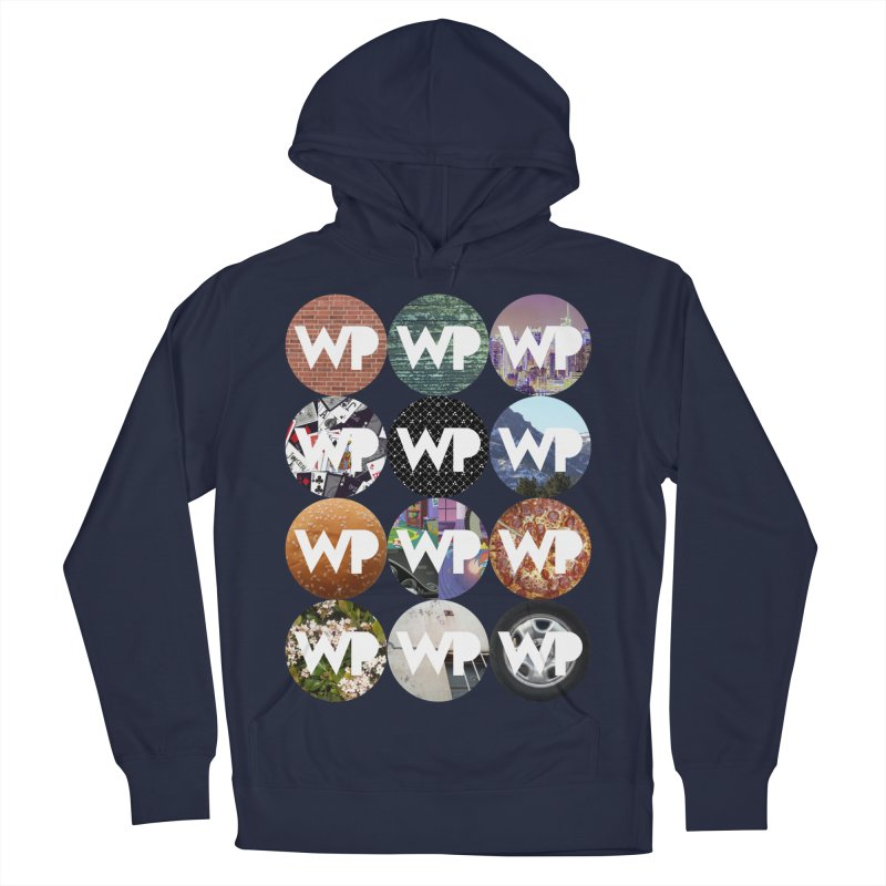 WP Dots 1 Men's French Terry Pullover Hoody by WatchPony Clothing Collection