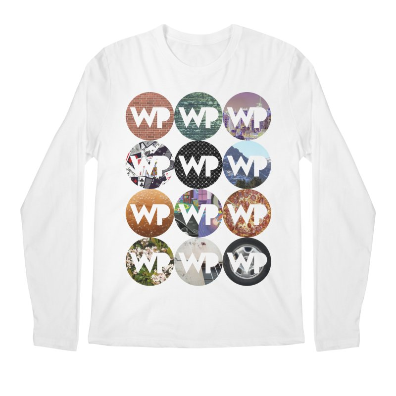 WP Dots 1 Men's Regular Longsleeve T-Shirt by WatchPony Clothing Collection