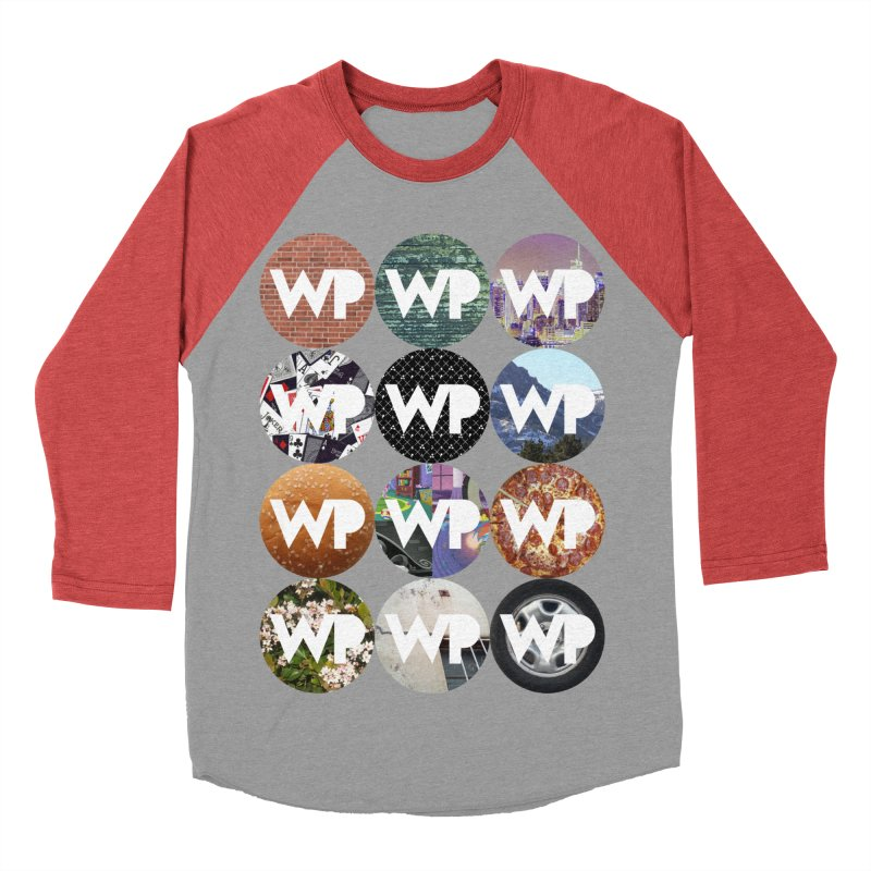 WP Dots 1 Men's Longsleeve T-Shirt by WatchPony Clothing Collection