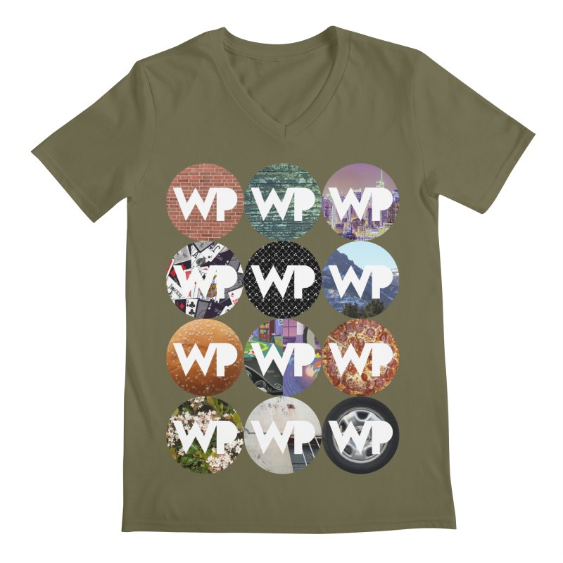 WP Dots 1 Men's Regular V-Neck by WatchPony Clothing Collection