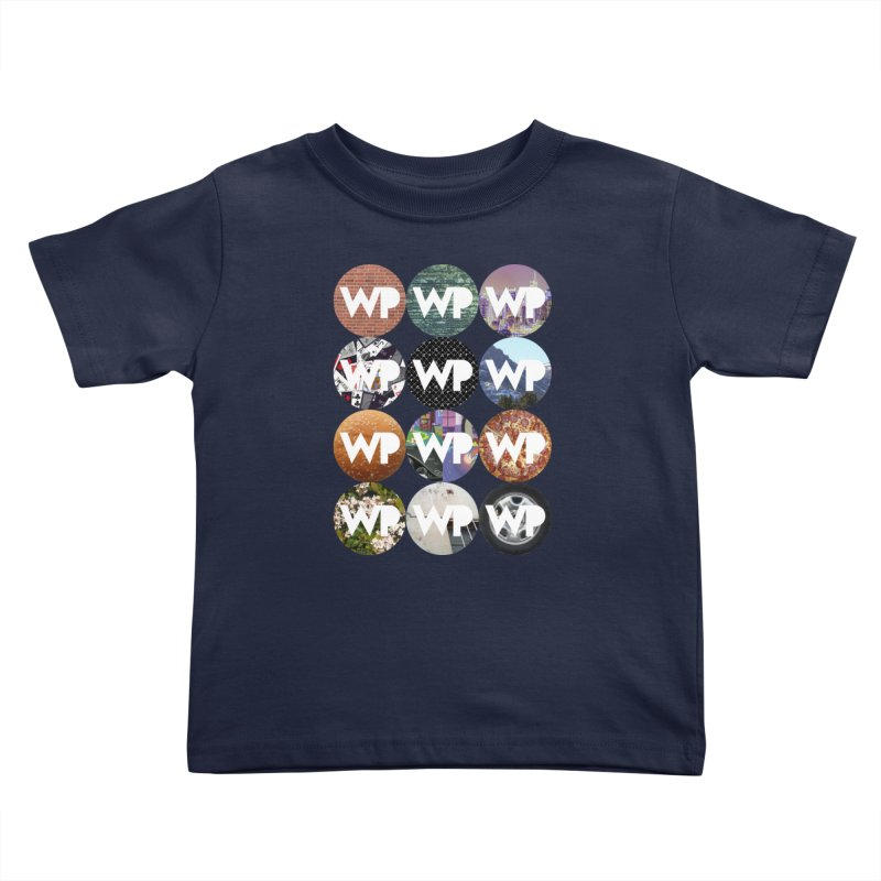 WP Dots 1 Kids Toddler T-Shirt by WatchPony Clothing Collection