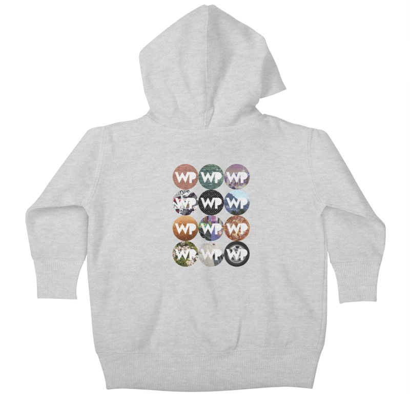 WP Dots 1 Kids Baby Zip-Up Hoody by WatchPony Clothing Collection