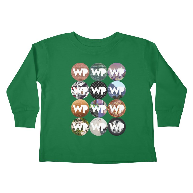WP Dots 1 Kids Toddler Longsleeve T-Shirt by WatchPony Clothing Collection