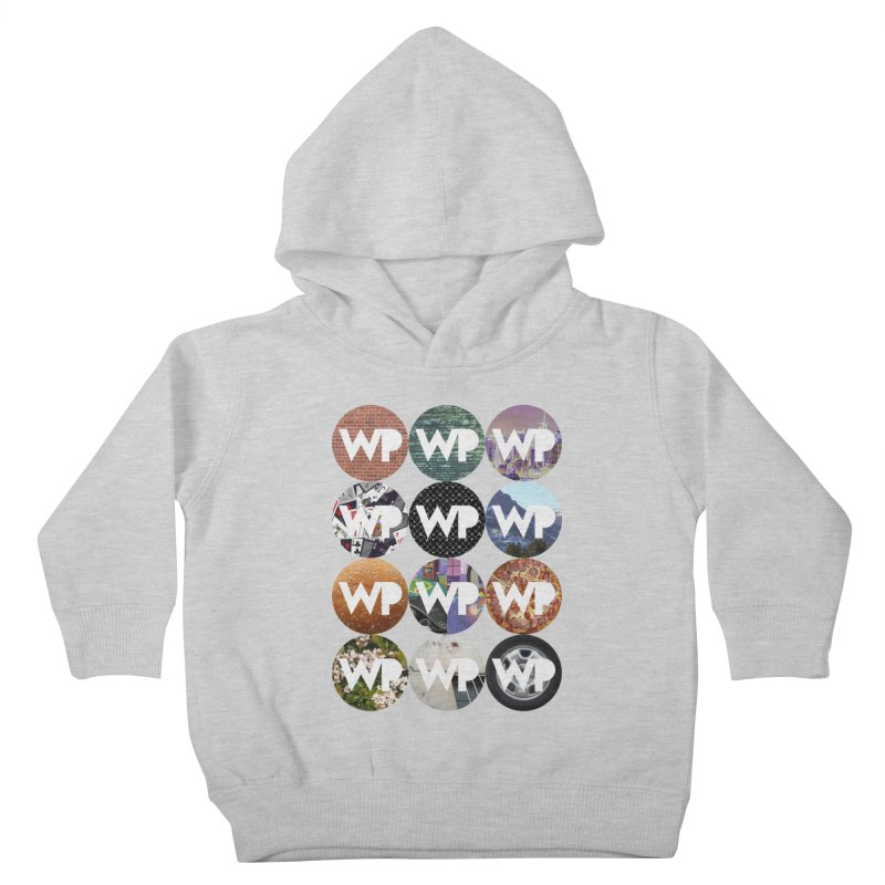 WP Dots 1 Kids Toddler Pullover Hoody by WatchPony Clothing Collection