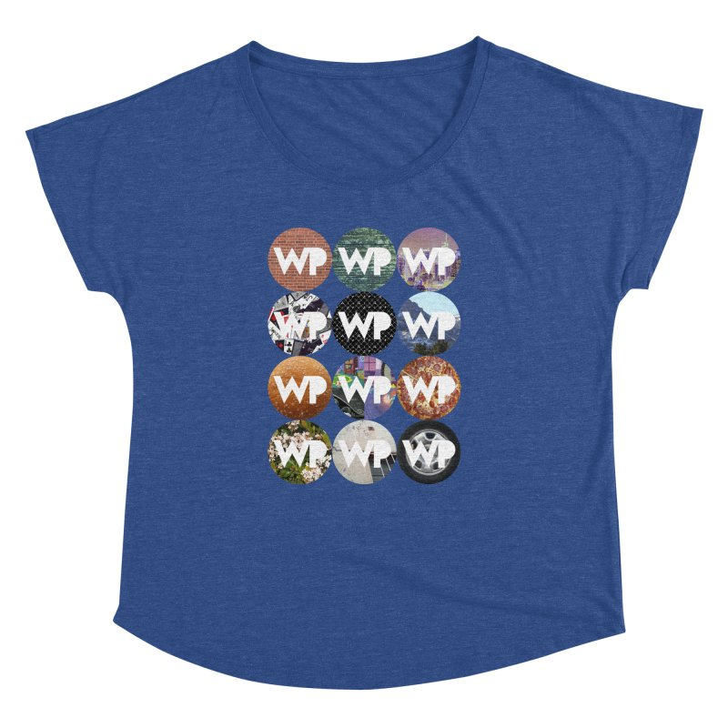 WP Dots 1 Women's Dolman Scoop Neck by WatchPony Clothing Collection