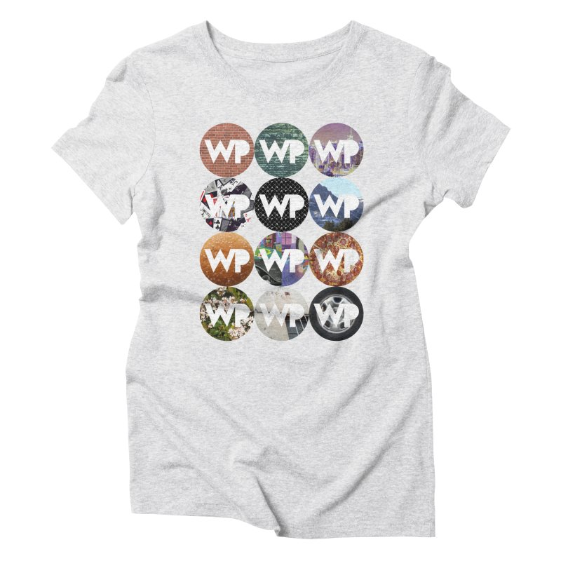 WP Dots 1 Women's T-Shirt by WatchPony Clothing Collection