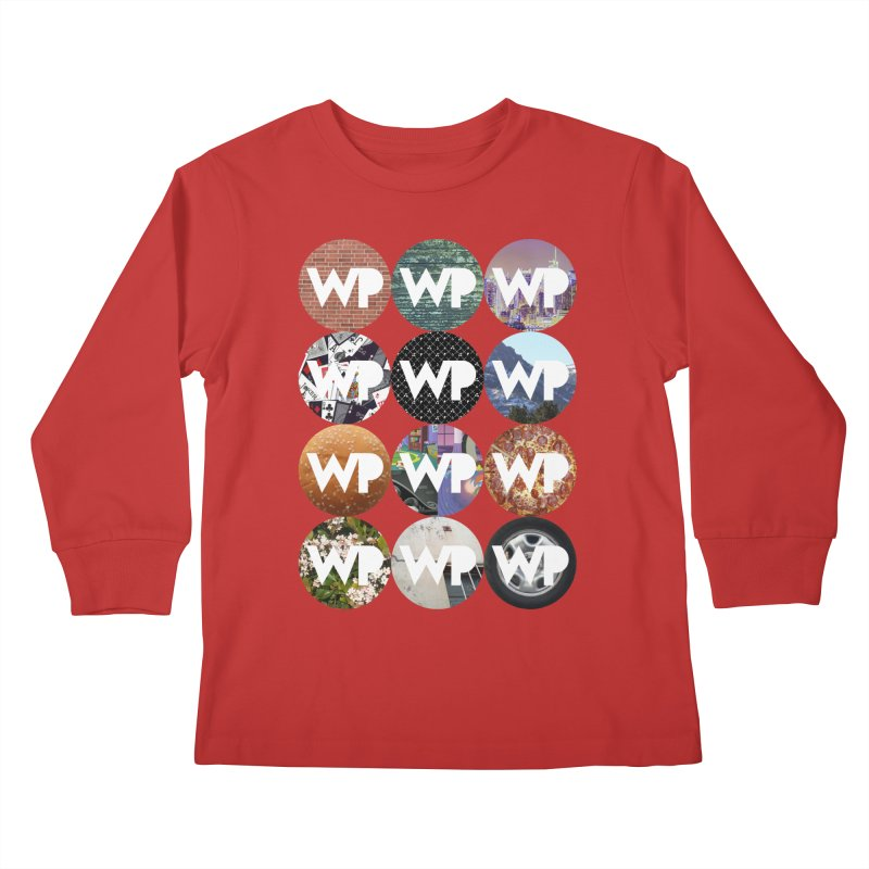WP Dots 1 Kids Longsleeve T-Shirt by WatchPony Clothing Collection