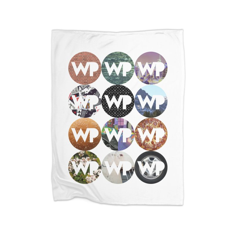 WP Dots 1 Home Fleece Blanket Blanket by WatchPony Clothing Collection