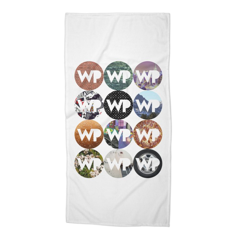 WP Dots 1 Accessories Beach Towel by WatchPony Clothing Collection