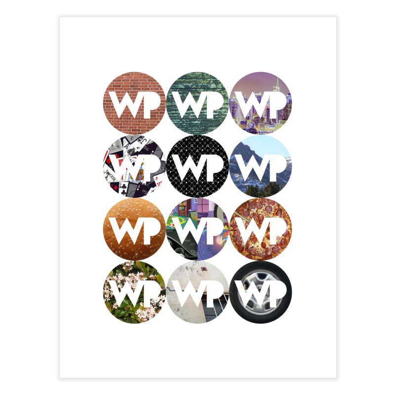 WP Dots 1 Home Fine Art Print by WatchPony Clothing Collection