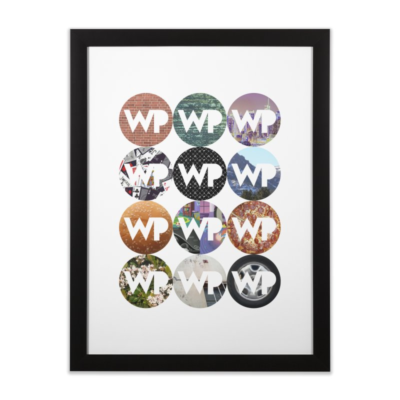 WP Dots 1 Home Framed Fine Art Print by WatchPony Clothing Collection