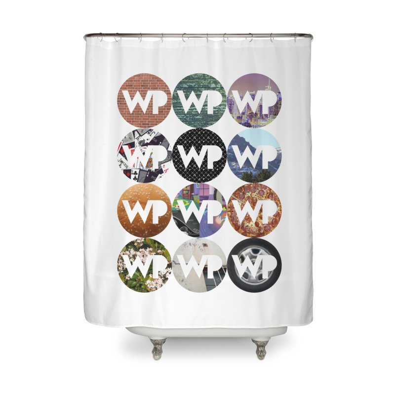 WP Dots 1 Home Shower Curtain by WatchPony Clothing Collection