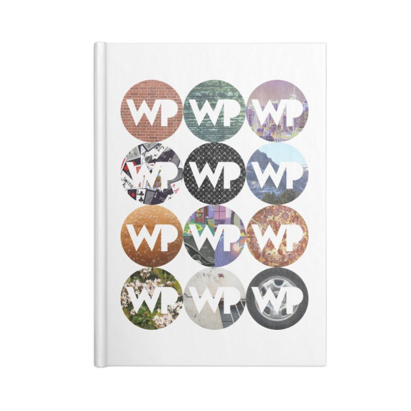 WP Dots 1 Accessories Lined Journal Notebook by WatchPony Clothing Collection