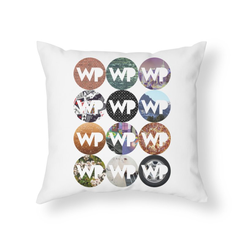 WP Dots 1 Home Throw Pillow by WatchPony Clothing Collection