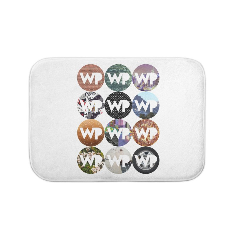 WP Dots 1 Home Bath Mat by WatchPony Clothing Collection