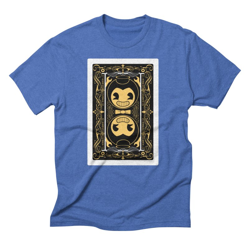 Bendy and the Ink Machine Playing Card Men's T-Shirt by WatchPony Clothing Collection