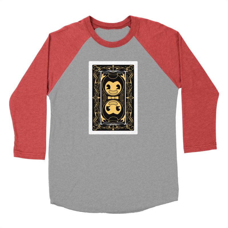 Bendy and the Ink Machine Playing Card Men's Longsleeve T-Shirt by WatchPony Clothing Collection