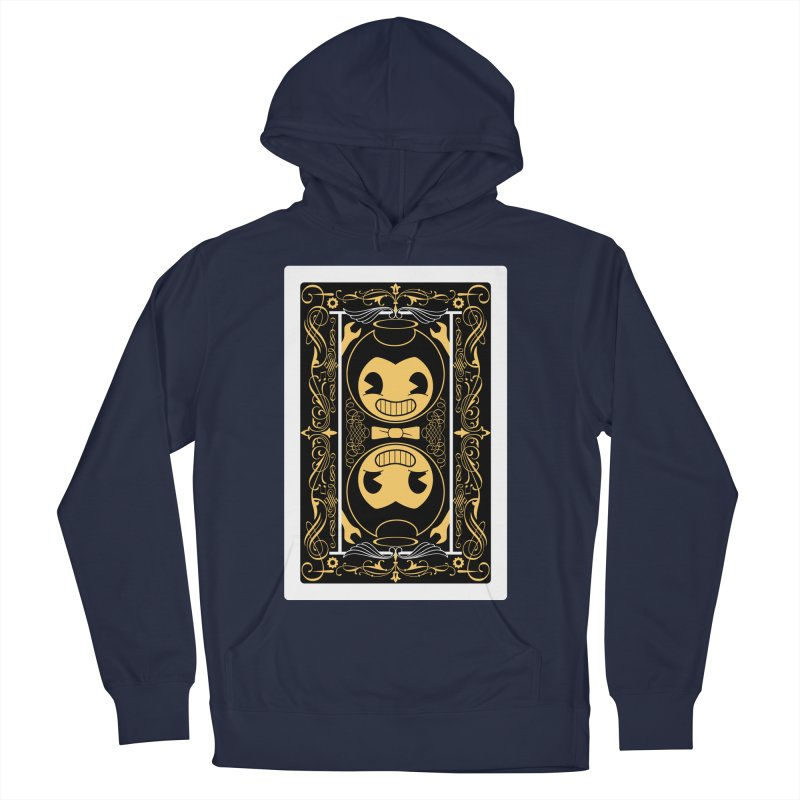 Bendy and the Ink Machine Playing Card Women's French Terry Pullover Hoody by WatchPony Clothing Collection