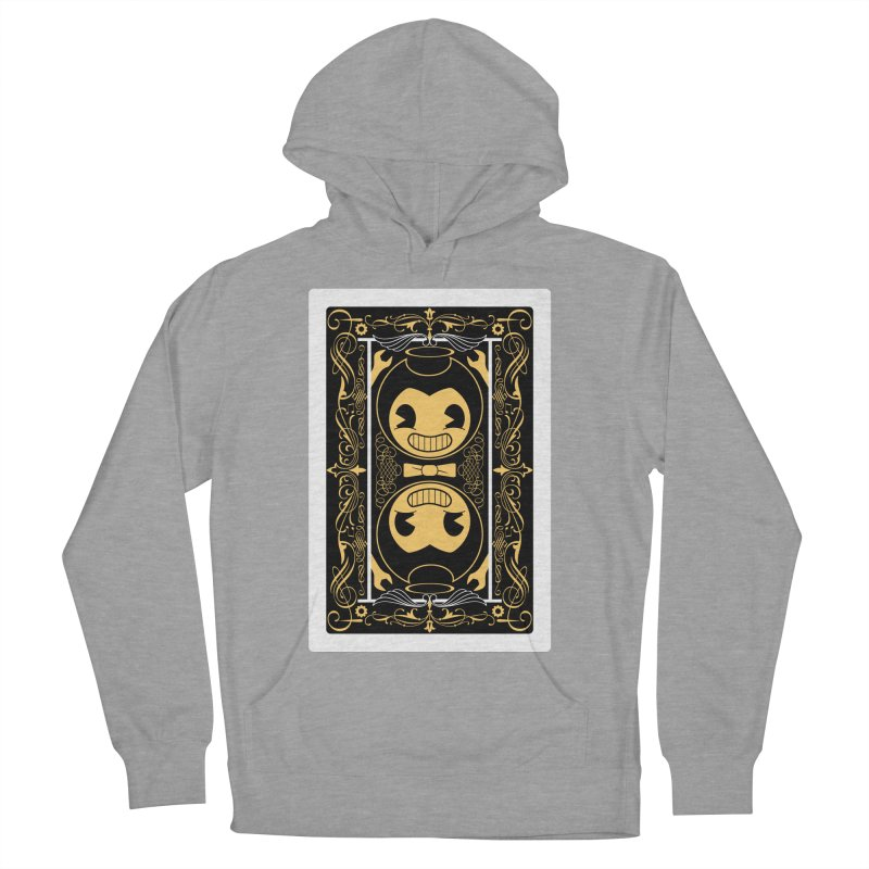 Bendy and the Ink Machine Playing Card Men's French Terry Pullover Hoody by WatchPony Clothing Collection