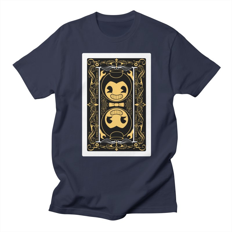 Bendy and the Ink Machine Playing Card Men's Regular T-Shirt by WatchPony Clothing Collection