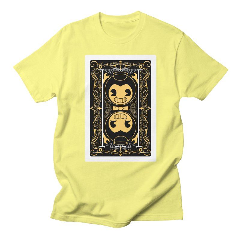 Bendy and the Ink Machine Playing Card Women's Regular Unisex T-Shirt by WatchPony Clothing Collection