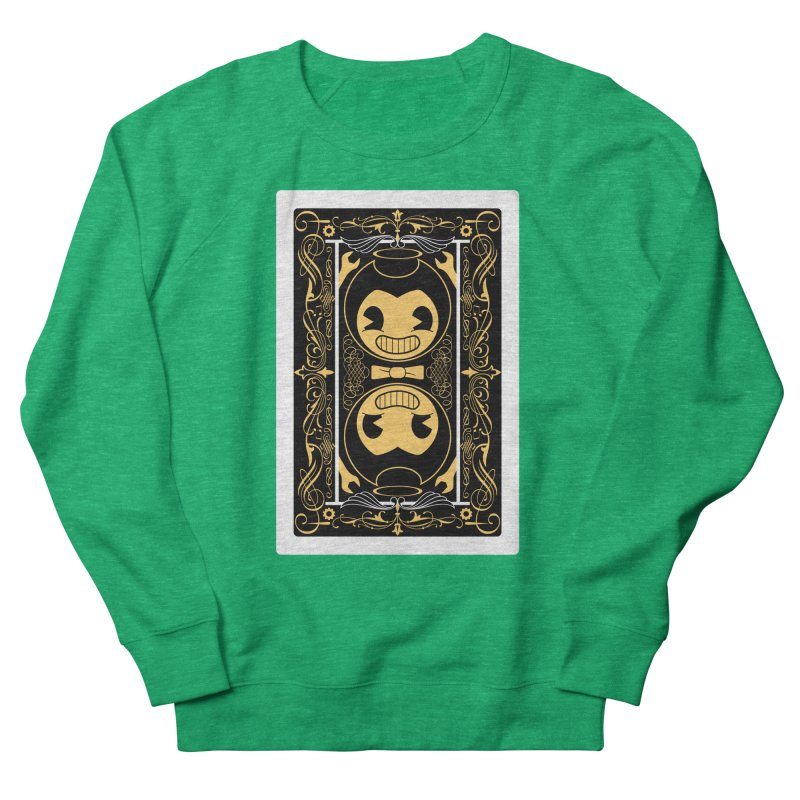 Bendy and the Ink Machine Playing Card Women's Sweatshirt by WatchPony Clothing Collection