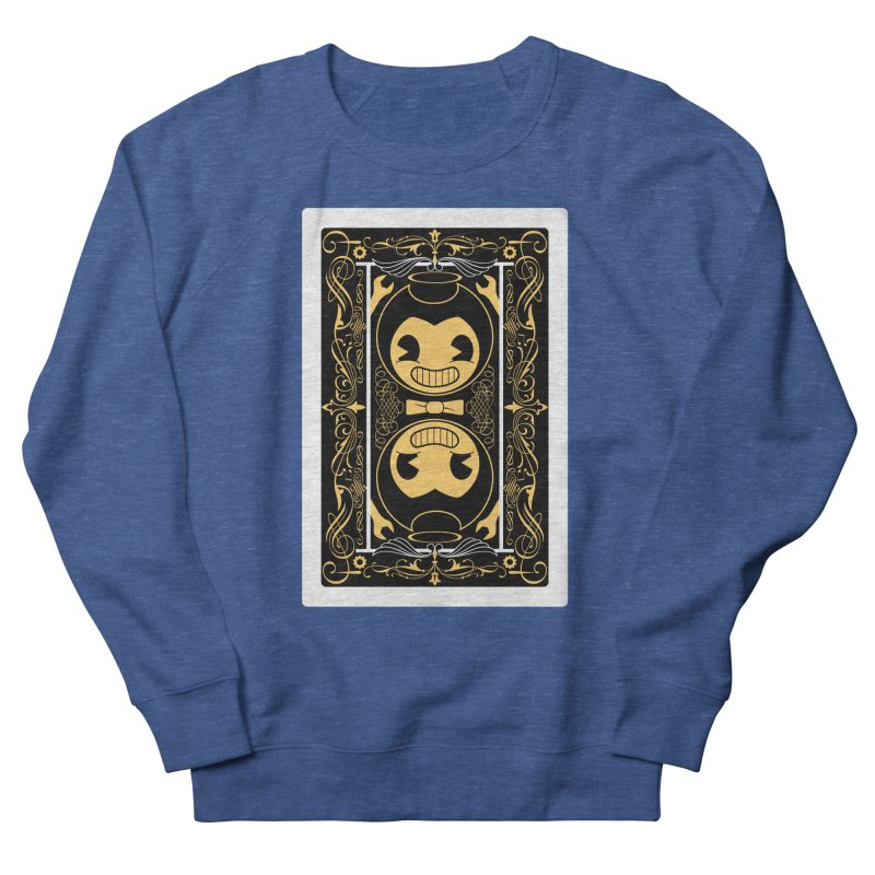 Bendy and the Ink Machine Playing Card Men's Sweatshirt by WatchPony Clothing Collection