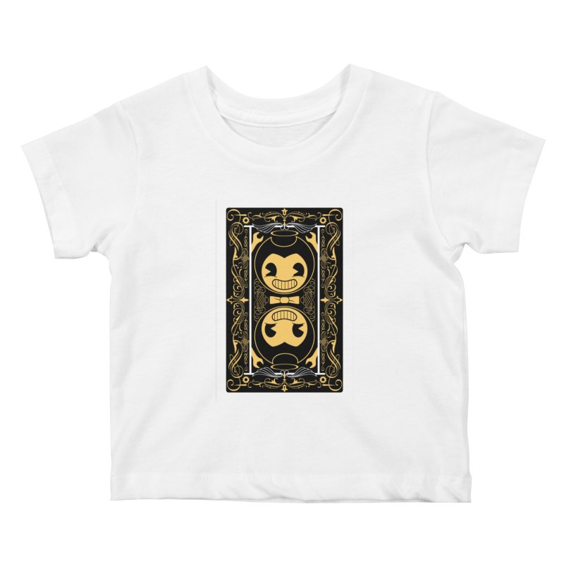 Bendy and the Ink Machine Playing Card Kids Baby T-Shirt by WatchPony Clothing Collection