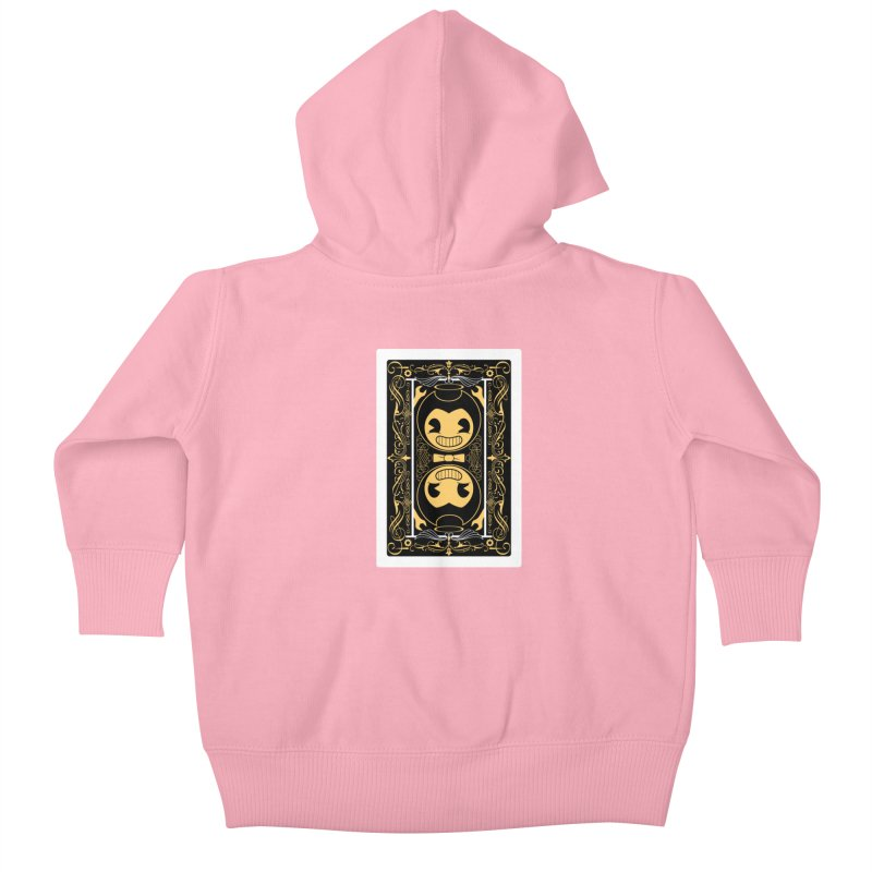 Bendy and the Ink Machine Playing Card Kids Baby Zip-Up Hoody by WatchPony Clothing Collection