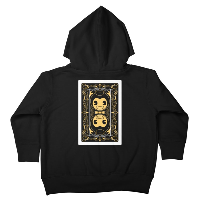 Bendy and the Ink Machine Playing Card Kids Toddler Zip-Up Hoody by WatchPony Clothing Collection