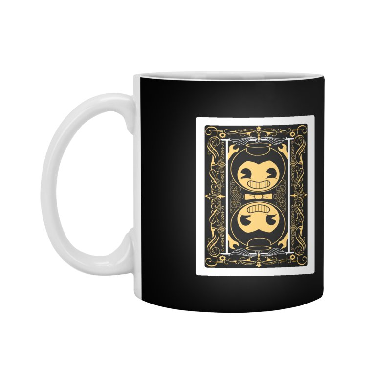 Bendy and the Ink Machine Playing Card Accessories Mug by WatchPony Clothing Collection