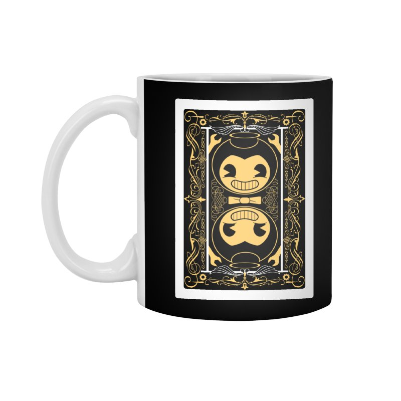 Bendy and the Ink Machine Playing Card Accessories Standard Mug by WatchPony Clothing Collection