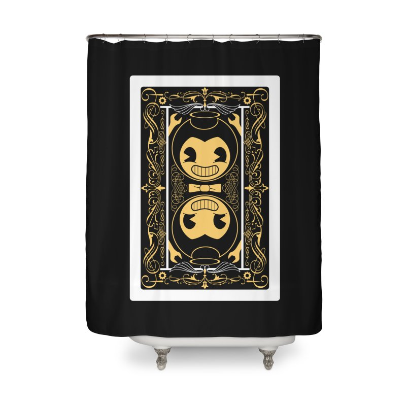 Bendy and the Ink Machine Playing Card Home Shower Curtain by WatchPony Clothing Collection