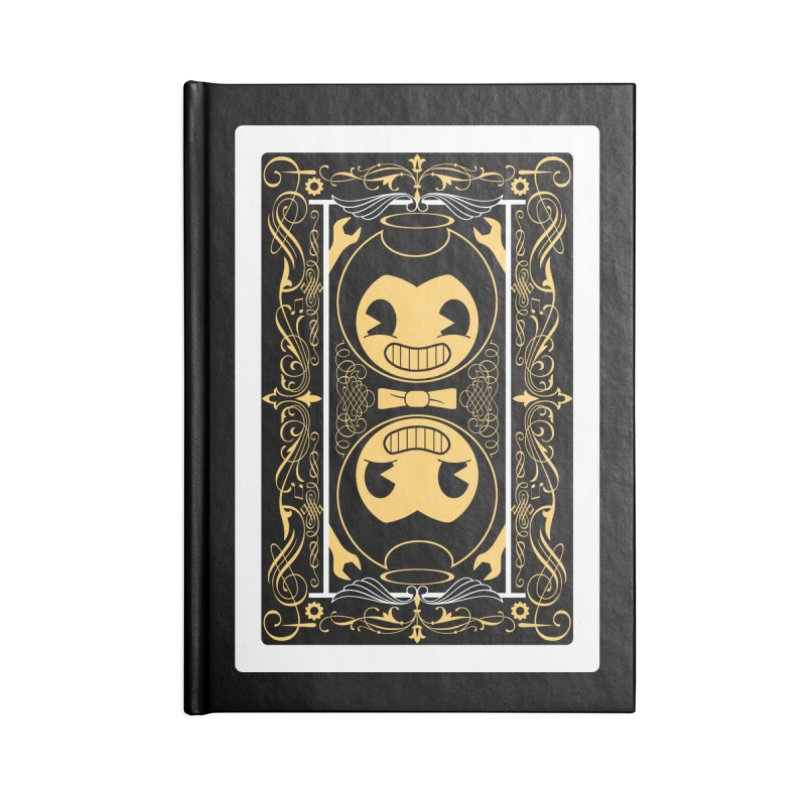 Bendy and the Ink Machine Playing Card Accessories Blank Journal Notebook by WatchPony Clothing Collection