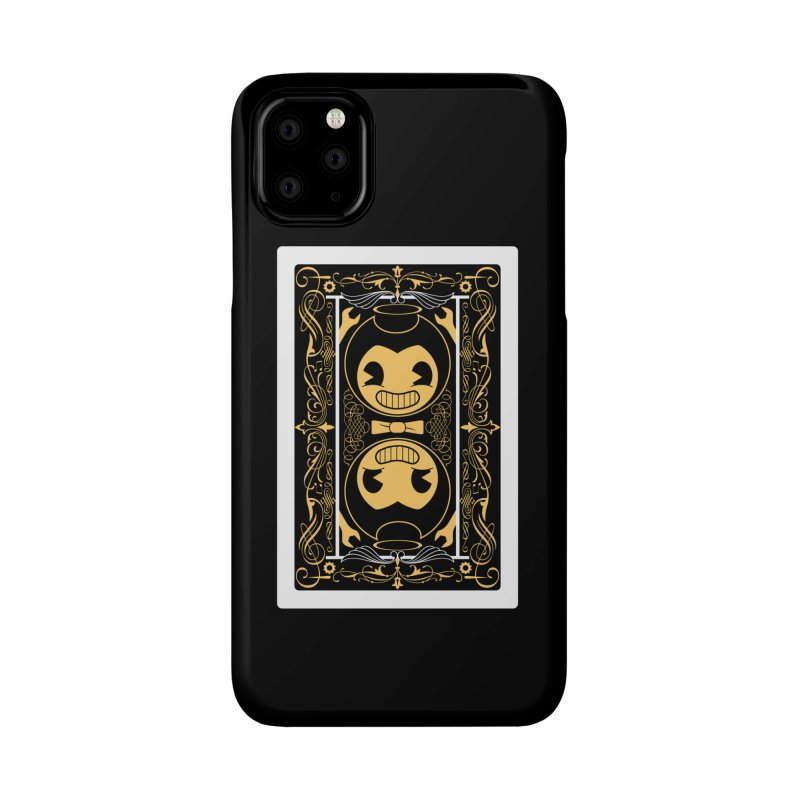 Bendy and the Ink Machine Playing Card Accessories Phone Case by WatchPony Clothing Collection
