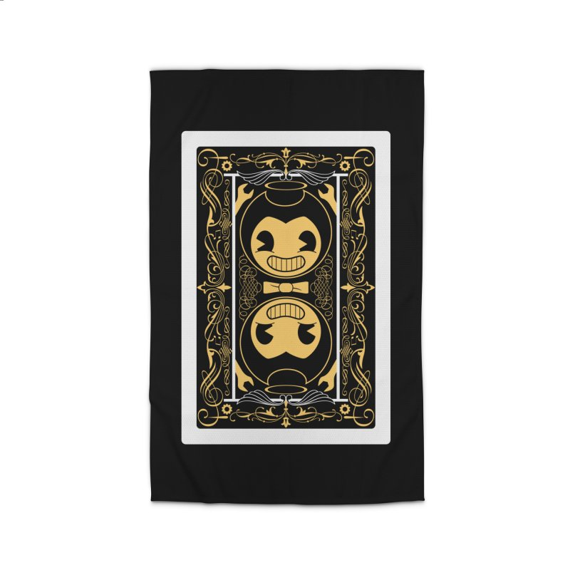 Bendy and the Ink Machine Playing Card Home Rug by WatchPony Clothing Collection