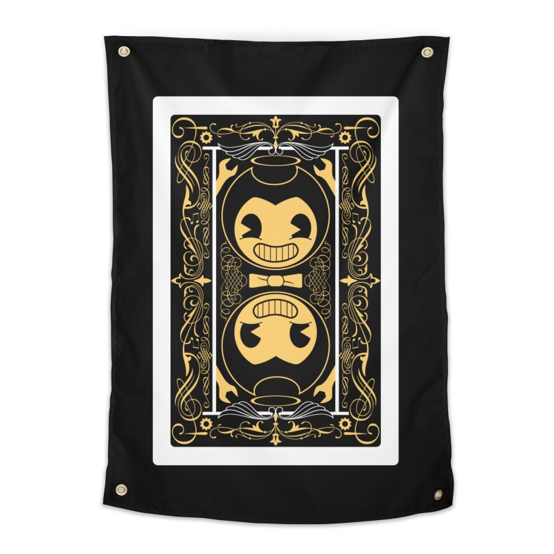 Bendy and the Ink Machine Playing Card Home Tapestry by WatchPony Clothing Collection