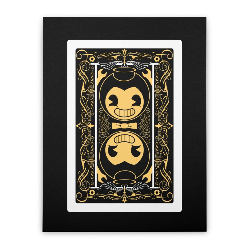 Bendy and the Ink Machine Playing Card Home Stretched Canvas by WatchPony Clothing Collection