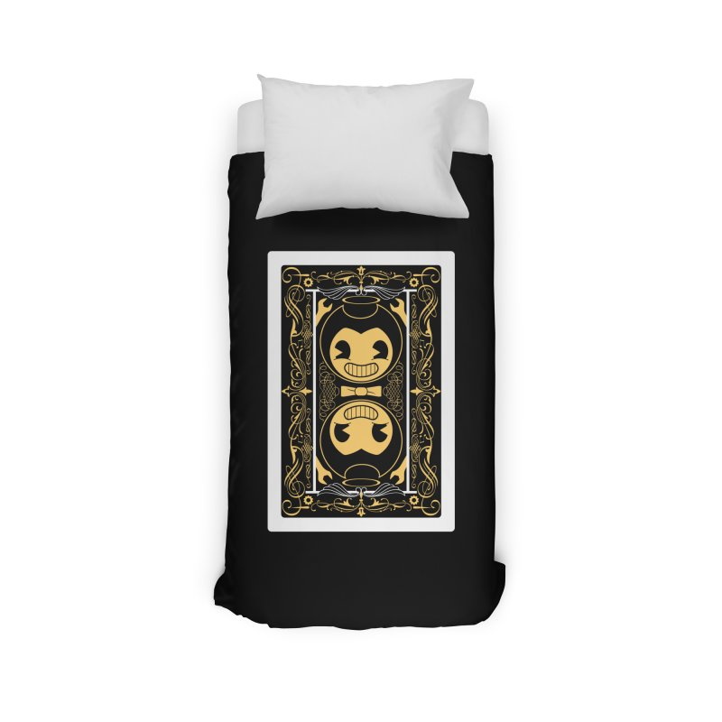 Bendy and the Ink Machine Playing Card Home Duvet by WatchPony Clothing Collection