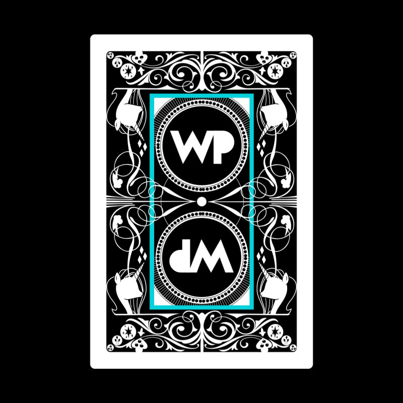 WatchPony Playing Cards Accessories Sticker by WatchPony Clothing Collection