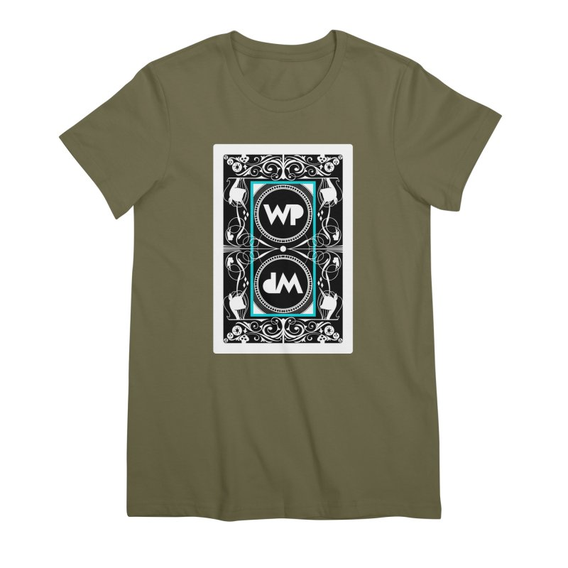 WatchPony Playing Cards Women's Premium T-Shirt by WatchPony Clothing Collection