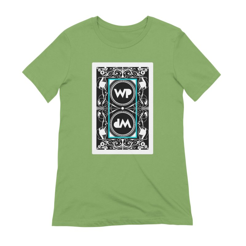 WatchPony Playing Cards Women's Extra Soft T-Shirt by WatchPony Clothing Collection