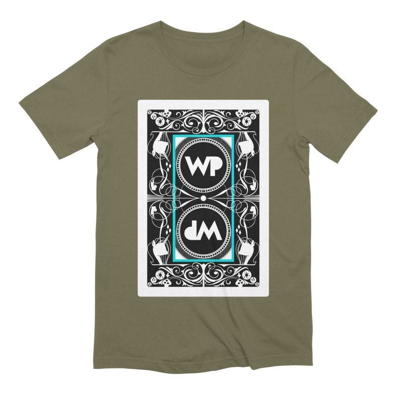 WatchPony Playing Cards Men's Extra Soft T-Shirt by WatchPony Clothing Collection
