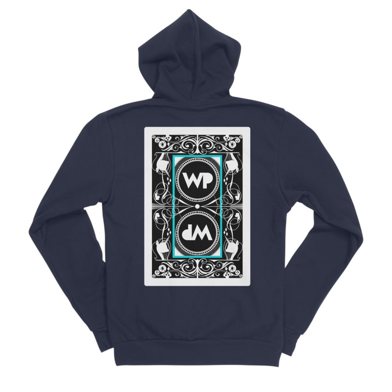WatchPony Playing Cards Men's Sponge Fleece Zip-Up Hoody by WatchPony Clothing Collection