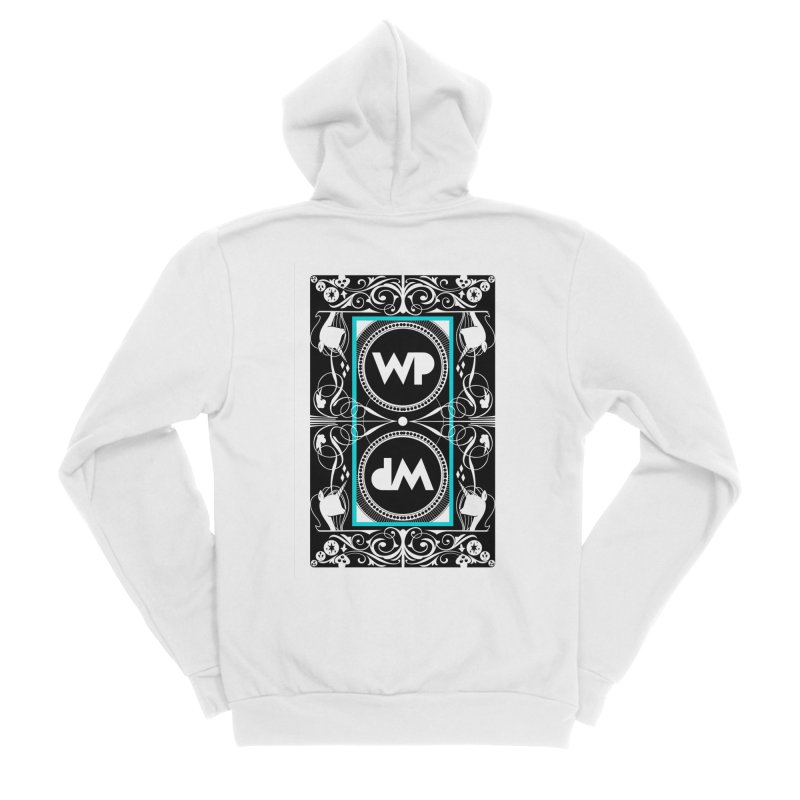 WatchPony Playing Cards Women's Sponge Fleece Zip-Up Hoody by WatchPony Clothing Collection