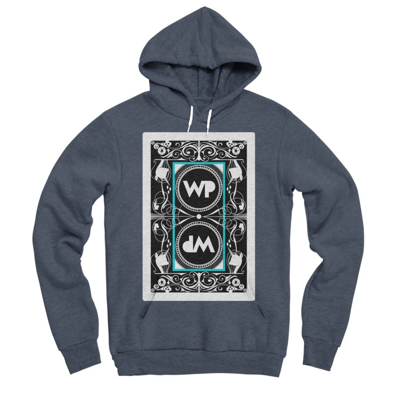 WatchPony Playing Cards Women's Sponge Fleece Pullover Hoody by WatchPony Clothing Collection