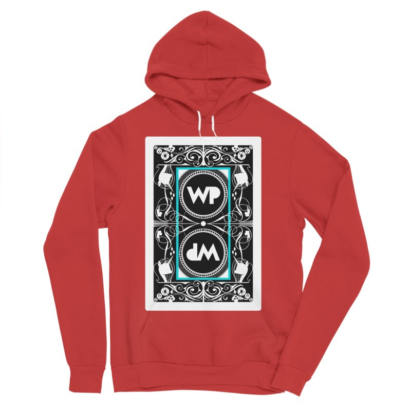 WatchPony Playing Cards Men's Sponge Fleece Pullover Hoody by WatchPony Clothing Collection