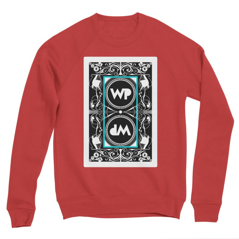 WatchPony Playing Cards Men's Sponge Fleece Sweatshirt by WatchPony Clothing Collection