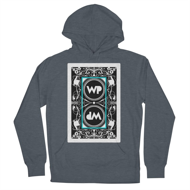 WatchPony Playing Cards Women's French Terry Pullover Hoody by WatchPony Clothing Collection
