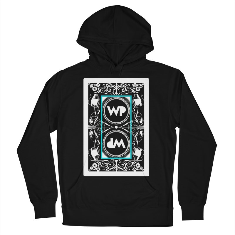 WatchPony Playing Cards Men's French Terry Pullover Hoody by WatchPony Clothing Collection